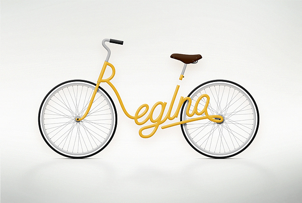 Write-A-Bike yellow Regina