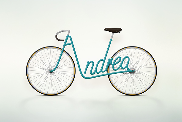 Write-A-Bike aqua Andrea