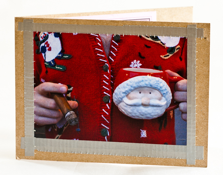 Ugly Sweater Man Card