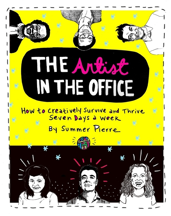 The Artist in the Office book cover