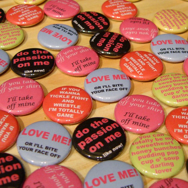 Jeff Classen Button pack Valentines for Lovers
