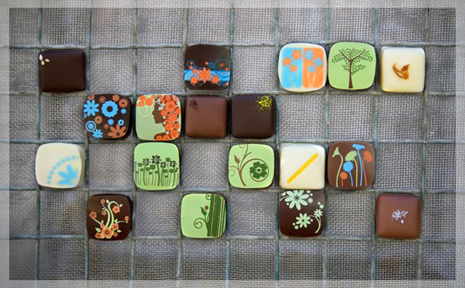Fleurir Hand Grown Chocolates 18 Piece Assorted Chocolate Box of Deliciousness