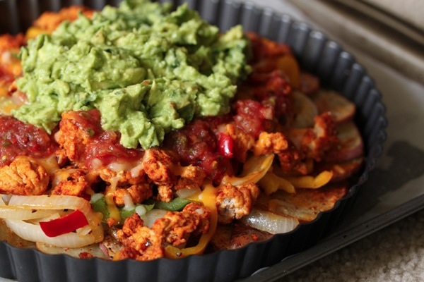 Irish Nachos with Guacamole by What's Gaby Cooking