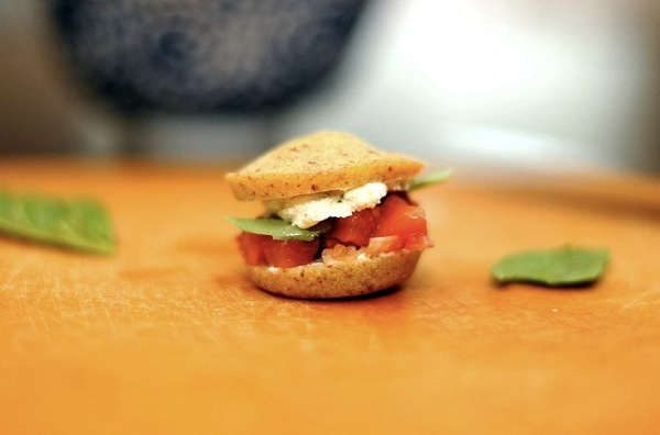 Tomato Sliders by Sassy Radish