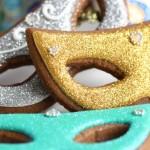 Mardi Gras Cookies Turtorial by Sweetopia