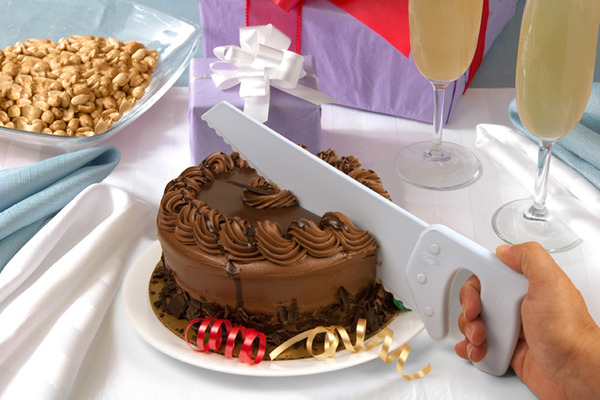 Table Saw Cake Knife by Fred