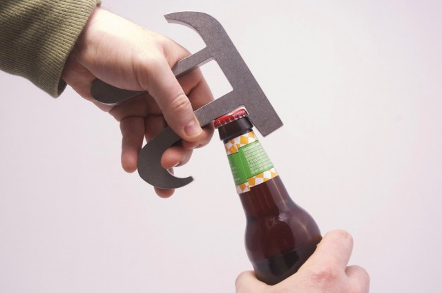 theUncommonGreen Pi Bottle Opener by Brian Green