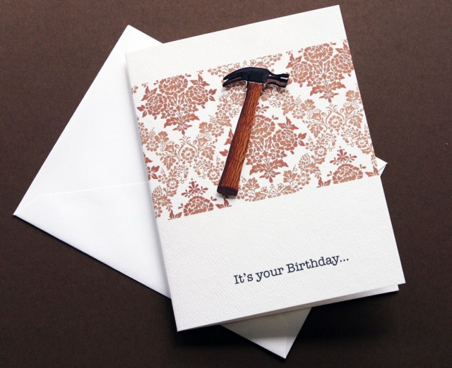 Hammered Card by Cracked Designs