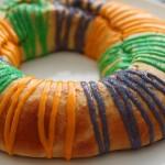 Mardi Gras King Cake by Zoe François