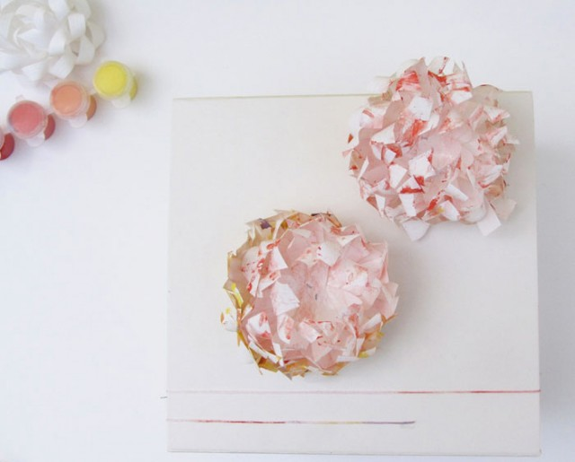 DIY Watercolor bows by Victoria Hudgins