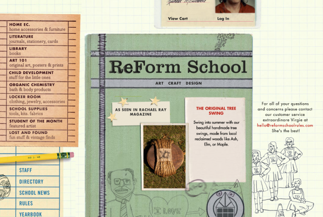 ReForm School homepage