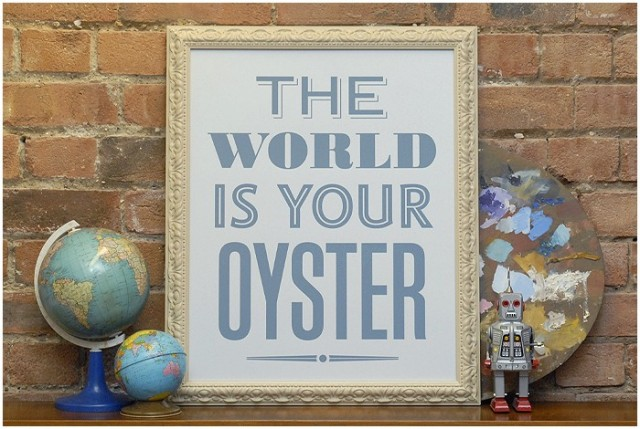 The World Is Your Oyster by Hayley & Lucas