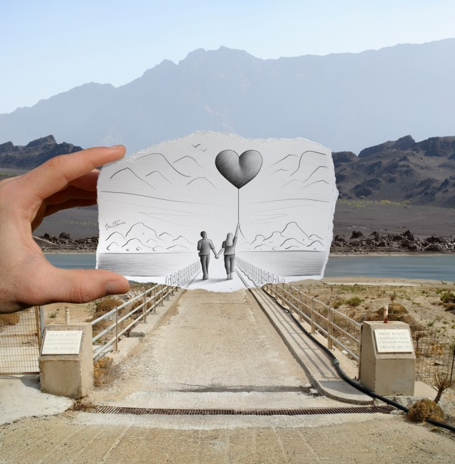 Pencil Vs Camera for Art Official Concept by Ben Heine
