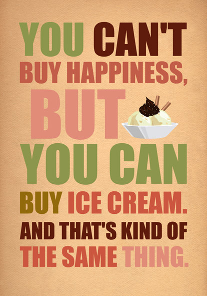 You can't buy happiness by Gayana