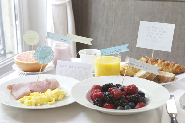 Oh Happy Day Breakfast Printable