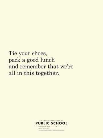 Tie Your Shoes by Public School