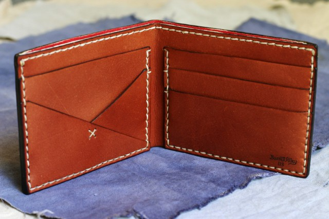 Devilish Wallet - Russet by Barrett Alley