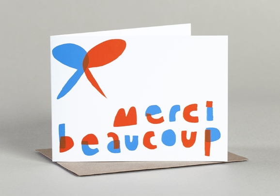 Merci Beaucoup by Yellow Owl Workshop
