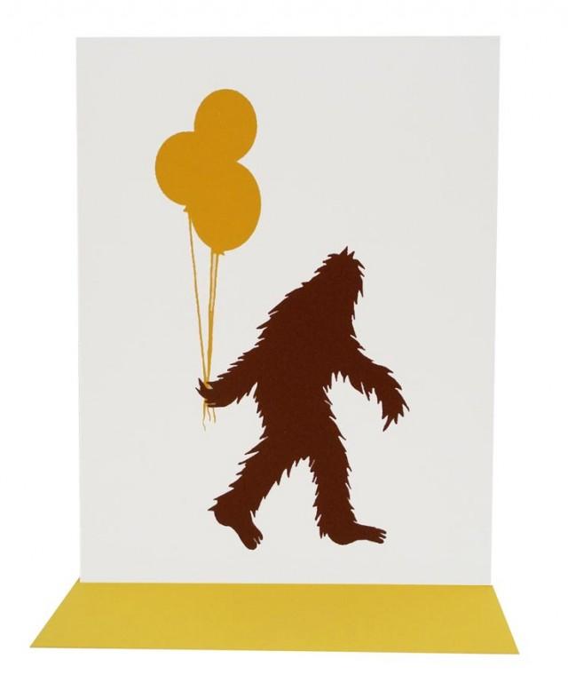 Happy Birthday Sasquatch by Orange Twist