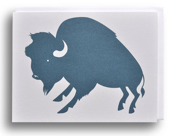 Buffalo Note Card by Banquet
