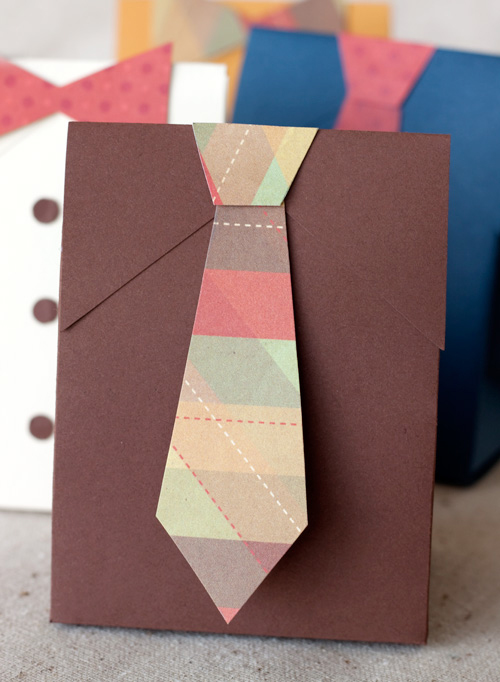 Fathers Day Shirt and Tie Gift Boxes detail