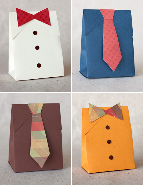 Make  Father   S Day Shirt   Tie Gift Boxes