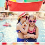 Kelly Anderson Pool Party by Loralee Lewis