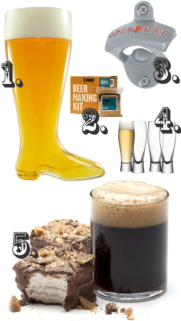 Beer Gifts Collage