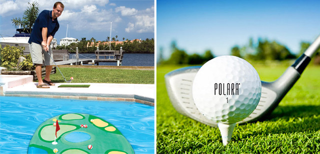 Pro-Chip Island Golf and Polara Ultimate Straight Golf Ball