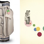 Kate Cart Bag and Crazy Golf by Cassia Beck