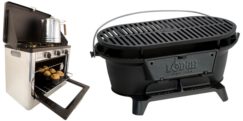 Camp Chef Camp Oven and Lodge Logic Sportsman Grill