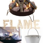 Flame: Collapsible Campfire and Fire Pit and Eva Solo Grill