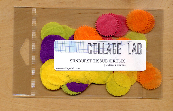 Collage Lab Sunburst Tissue Paper Packs
