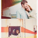 Shelli and Chris engagement photos on 100 Layer Cake
