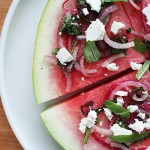Watermelon Salad by Lottie & Doof