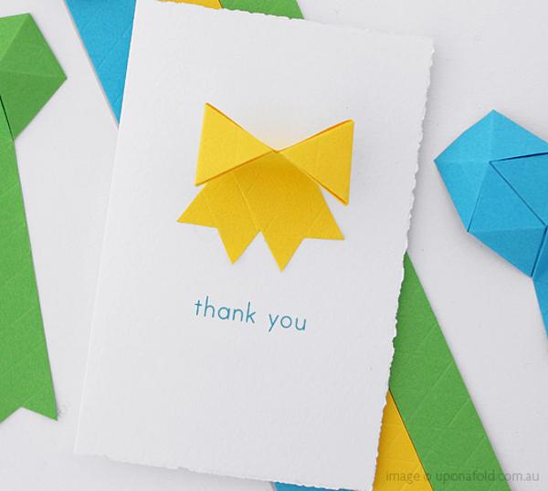 Oribbon: Decorative Origami Sticker Ribbon