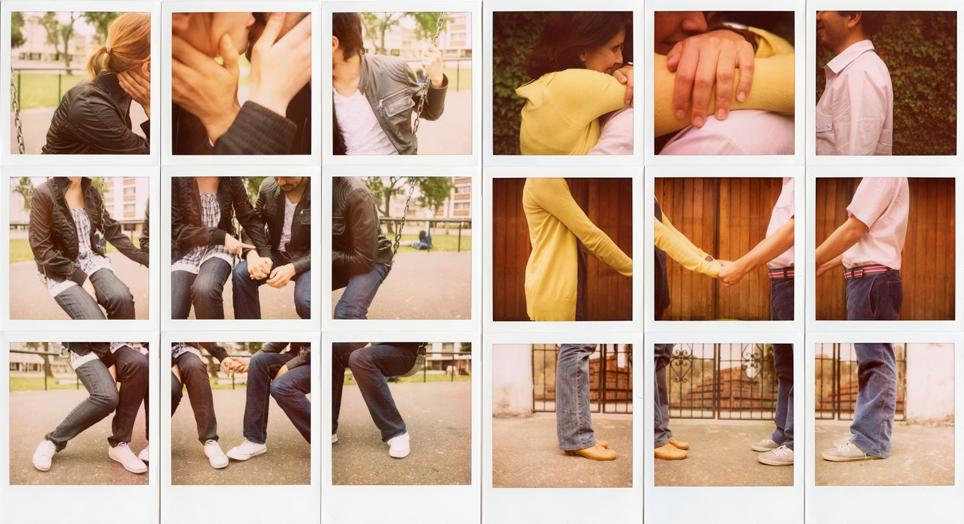 Escena de amor entre pareja anónima by Juan Felipe Rubio