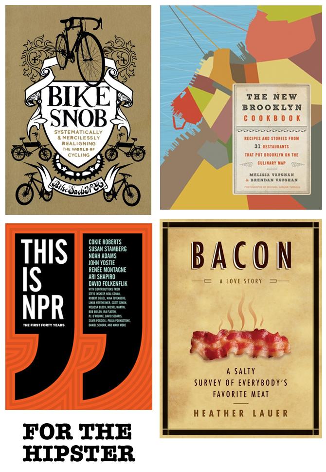 books bikes Brooklyn hipster NPR bacon