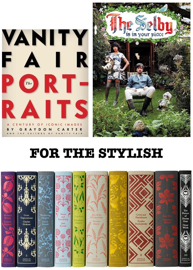 books stylish interiors portraits novels classics