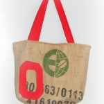 recycled burlap sack