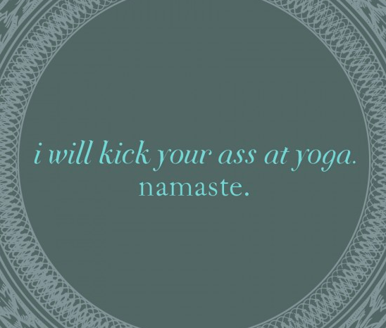Yoga Magnet by Bold Face Type