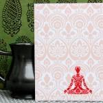 Meditation Card by Kashmira Jhaveri