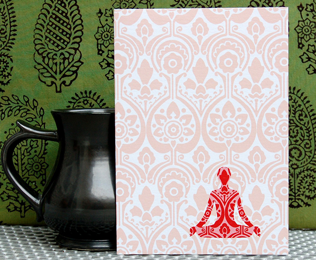 Meditation Card by Kashmira Jhaveri
