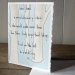 Breathing card by Amy Rubin Flett