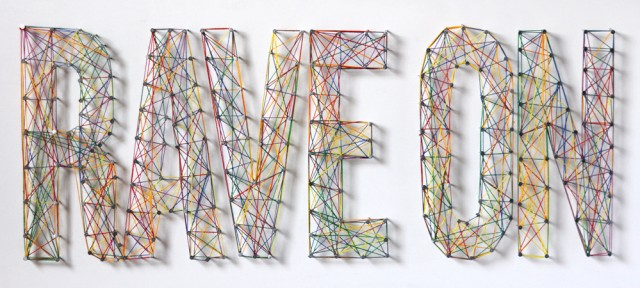 How to Make Typographic String Art : ManMadeDIY