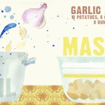 Garlic Mashed Potatoes by Meg Guerin