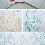 Set of 5 Letterpress Yoga Cards by Fine Day Press
