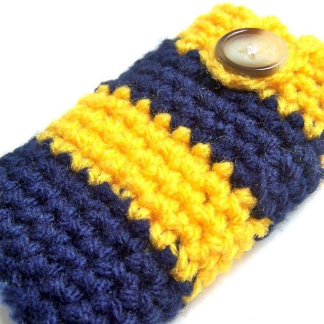 iphone case handmade knit