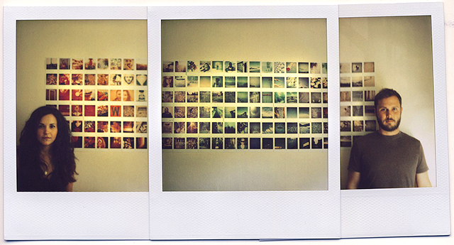 Polaroid Wall by His&Hers
