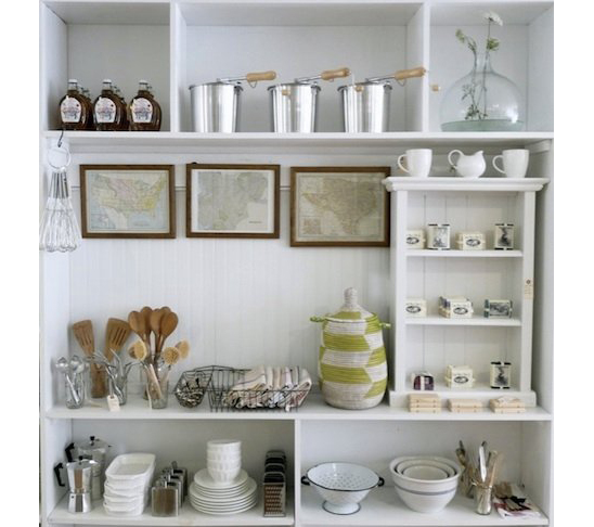Brook Farm General Store shelves
